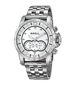 Breil Men's Aviator Watch with Silvertone Bracelet