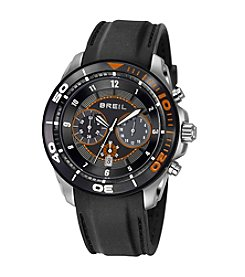 Breil Men's Edge Watch with Orange Dial