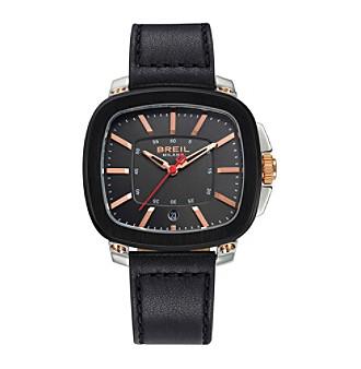 Breil Men's Capital Watch with Black Strap