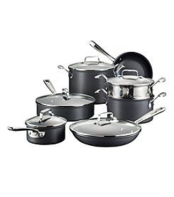Emerilware® 12-pc. Black Hard-Anodized Cookware Set