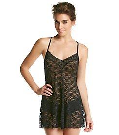 Linea Donatella® Black Lace Chemise