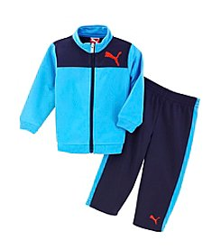 PUMA® Baby Boys' Cat 2-Piece Tricot Set