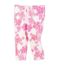 Little Miss Attitude Girls' 2T-6X Printed Capri Leggings