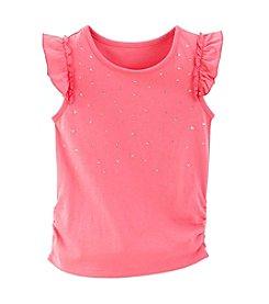 Little Miss Attitude Mix & Match Girls' 2T-6X Flutter Sleeve Tank