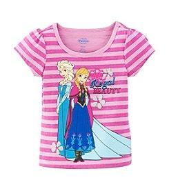 Nannette® Girls' 4-6X Frozen Regal Beauty Sisters Tee *