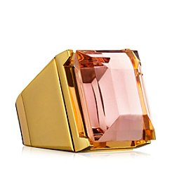 Estee Lauder Beautiful Golden Cocktail Ring Solid Perfume Compact