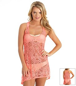 Hurley® Crocheted Coverup Dress