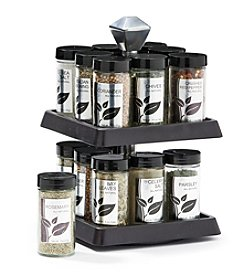 Kamenstein Kamenstein 16 Jar Madison Spice Rack + Free Refills for 5 years
