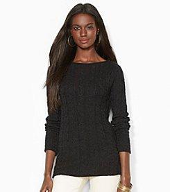Lauren Jeans Co.® Cable-Knit Cotton Sweater