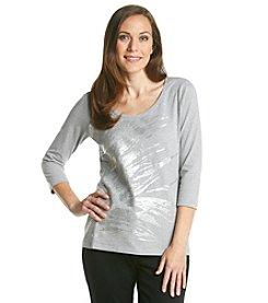 Laura Ashley® Silver Breeze Tee