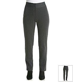 Laura Ashley® Petites' Ponte Pants