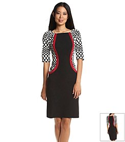 Madison Leigh® Colorblock Panel Sheath Dress
