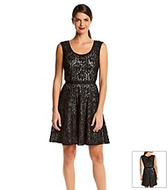 Plenty by Tracy Reese Lace Metallic Dress