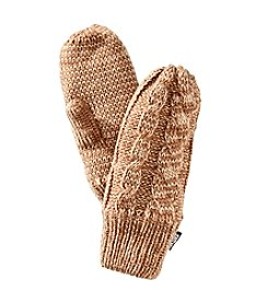 MUK LUKS® Twisted Cable Two Tone Mittens