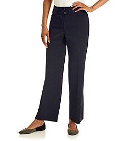 Rafaella® Petites' Gab Curvy Fit Pants