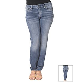 Silver Jeans Co. Plus Size Aiko Skinny High Waist Skinny Jeans