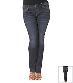 Silver Jeans Co. Plus Size Aiko Mid Slim Boot Jeans