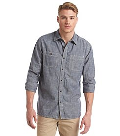 Ruff Hewn Men's Heritge Chambray Woven Shirt