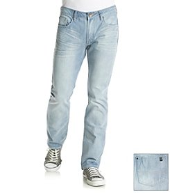 Buffalo by David Bitton Men's Six Basic Slim Straight Jean