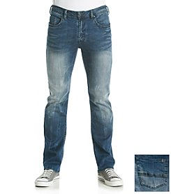 Buffalo by David Bitton Men's Driven-X Basic Straight Stretch Jean