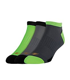 Powersox® by GOLD TOE® Men's 3 Pack Powerlites® Low Cut Socks