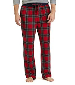 Nautica® Men's Plaid Fleece Pajama Pant