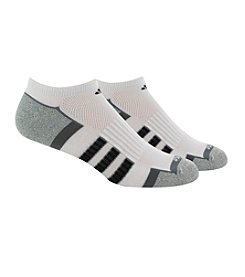 adidas® Men's 2 Pack Climalite II No Show Socks