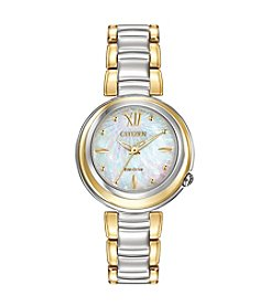 Citizen® Women's Eco-Drive Two-Tone Diamond Sunrise Watch