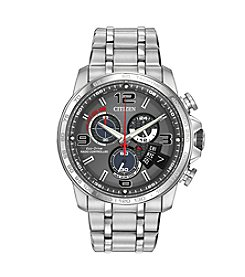 Citizen® Men's Stainless Chrono Time A-T Watch