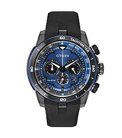 Citizen® Men's Black Strap Ecosphere Watch