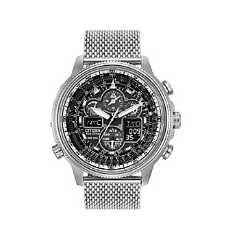 Citizen® Men's Stainless Steel Navihawk Watch