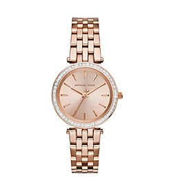 Michael Kors® Rose Goldtone Mini Darci Watch