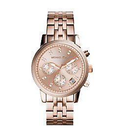 Michael Kors® Rose Goldtone Ritz Watch