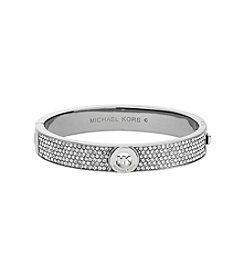 Michael Kors® Clear Pave Fulton Hinge Bangle