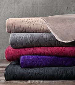 Madison Park™ Quilted Glimmersoft Throw