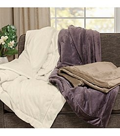 Madison Park™ Elegance Plush Throw