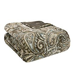 Premier Comfort Blue Paisley Bristol Lisburn Microlight Throw