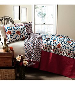 Lush Decor Scroll Flower 3-pc. Quilt Set