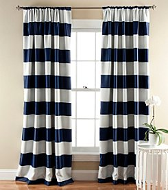 Lush Decor Stripe Blackout Window Curtain