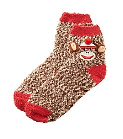 Legale® Embroidered Popo Sock Monkey Socks - Assorted *