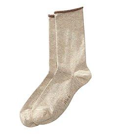 HUE® Jean Socks - Oatmeal