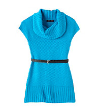 Grane® Girls' 7-16 Sparkle Cowlneck with Belt