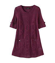 Grane® Girls' 7-16 Cable Scoop Tunic