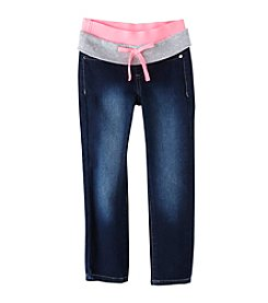 Squeeze® Girls' 4-6X Dark Stone Pull On Jeans