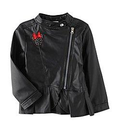 Nannette® Girls' 4-6X Peplum Minnie Mouse Jacket