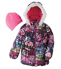 Hawke & Co. Girls' 4-6X Capri Puffer Jacket