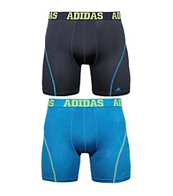 adidas® Men's 2 Pack Sport Performance Boxer Brief