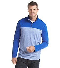 Kenneth Roberts Men's Color Block Quarter Zip