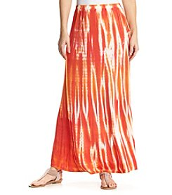 Studio West Tie Dye Print Maxi Skirt