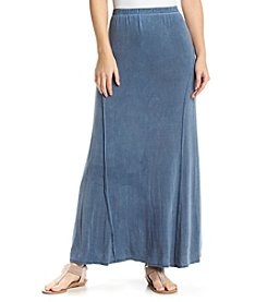 Studio West Solid Maxi Skirt